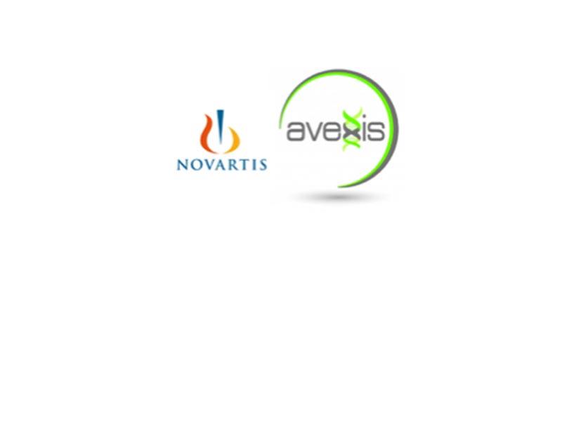 Novartis & Avexis logos